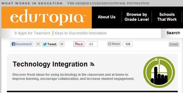 From: http://www.edutopia.org/blogs/beat/technology-integration and http://www.edutopia.org/blog/simple-power-of-a-screenshot-monica-burns